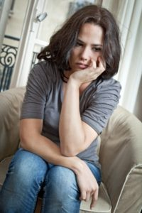 Woman in Difficult Marriage